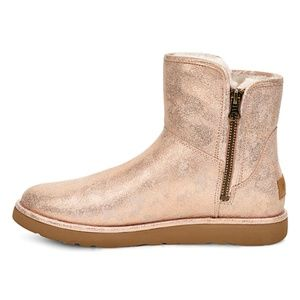 UGG Rose Gold Suede Boot - Women